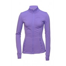 Slim-Fitted Skating Jacket-Purple